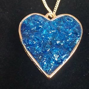 24 in Chain Heart Necklace